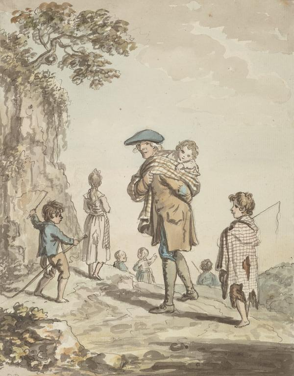 A Poor Edinburgh Father of Twenty Children (About 1785)
