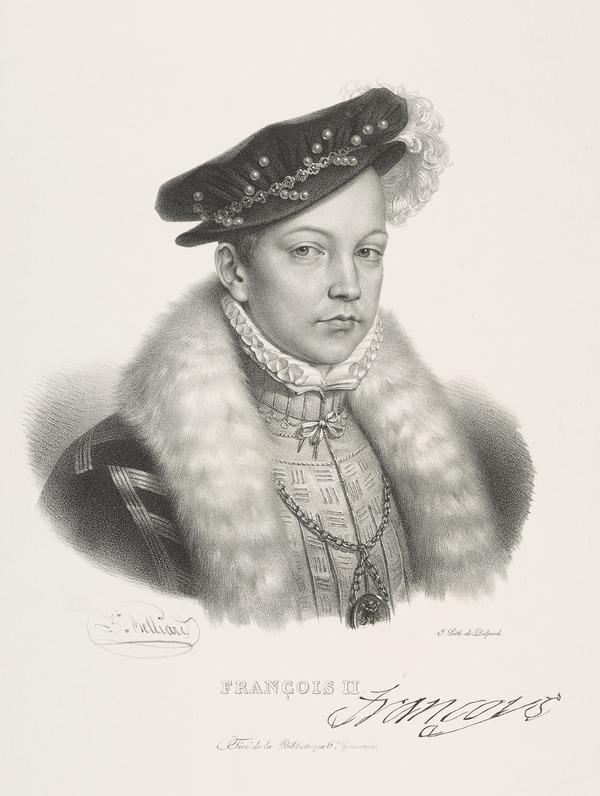 Francis II, 1544 - 1560. King of France (Possibly 19th century)