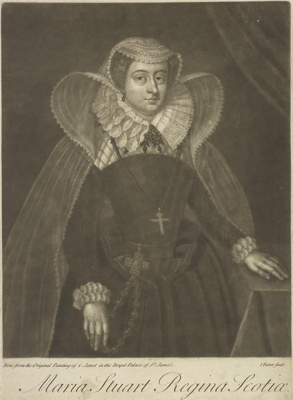Mary, Queen of Scots, 1542 - 1587. Reigned 1542 - 1567