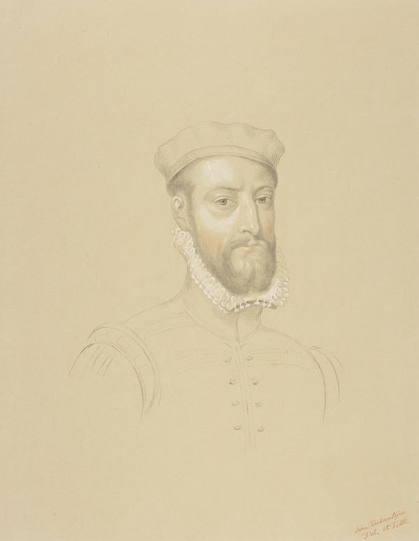 James Stewart, Earl of Moray, c 1531 - 1570. Regent of Scotland (Possibly late 18th century)