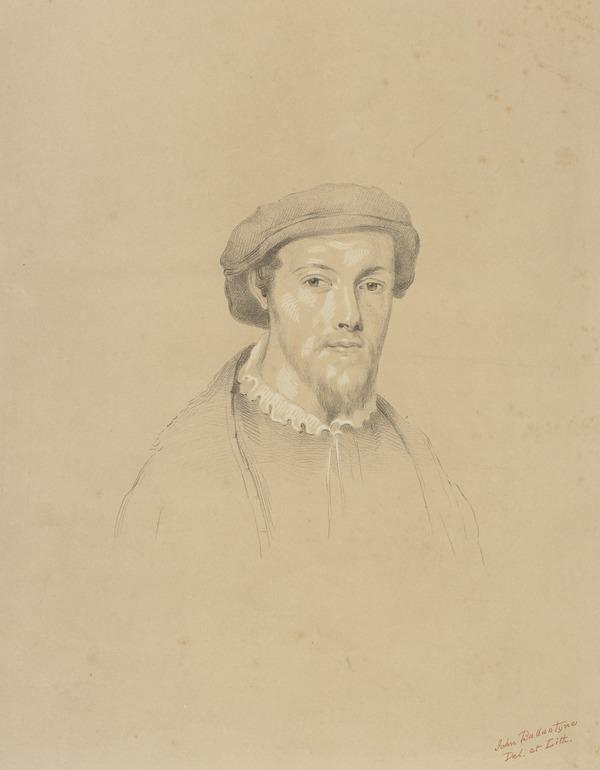 George Wishart, c 1513 - 1546. Reformer and martyr (Possibly late 18th - early 19th century)