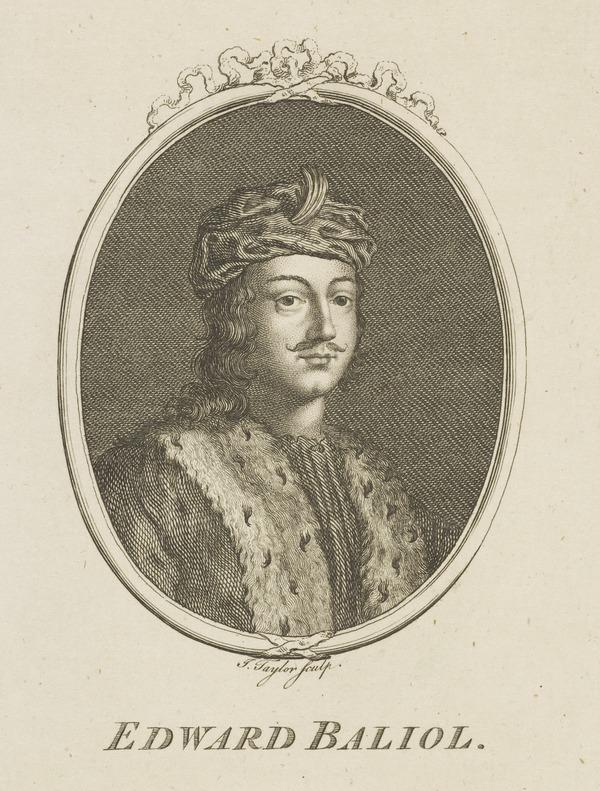 Edward Balliol, d. 1363. Son of John Balliol, King of Scots (Possibly late 18th century)