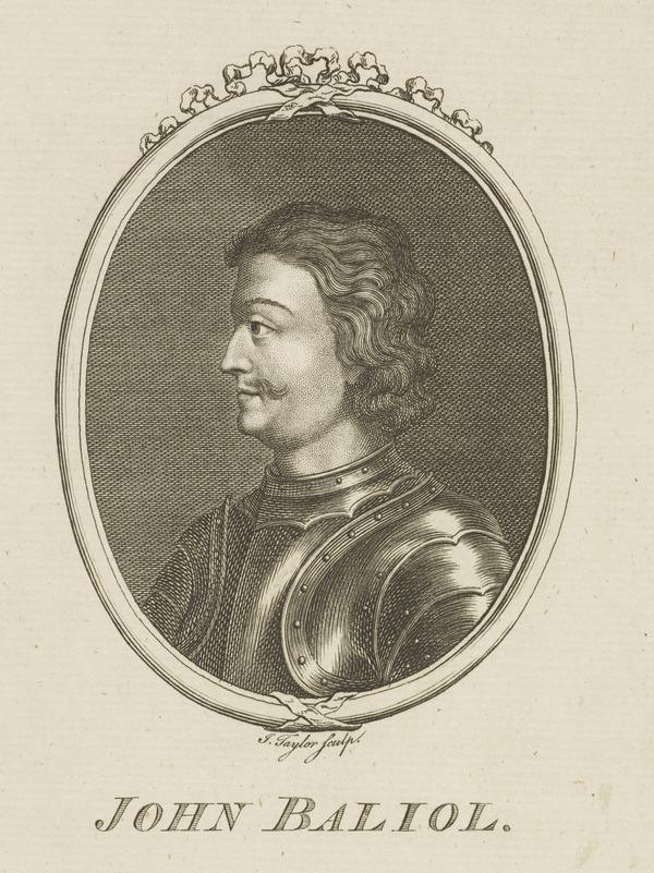 John Balliol, 1249 - 1315. King of Scots (Possibly late 18th century)