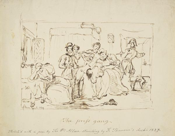 The Press Gang (Dated 1834)