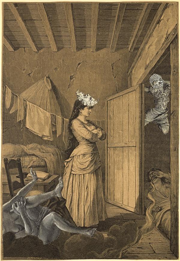 Untitled (Unpublished collage for 'Une Semaine de Bonté') (1934)