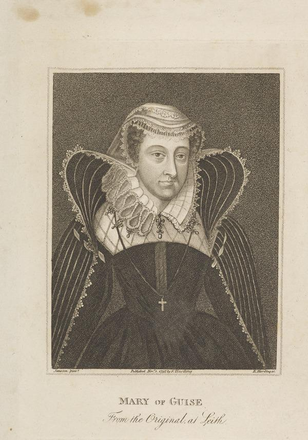 Mary of Guise, 1515 - 1560. Queen of James V (Published 1797)
