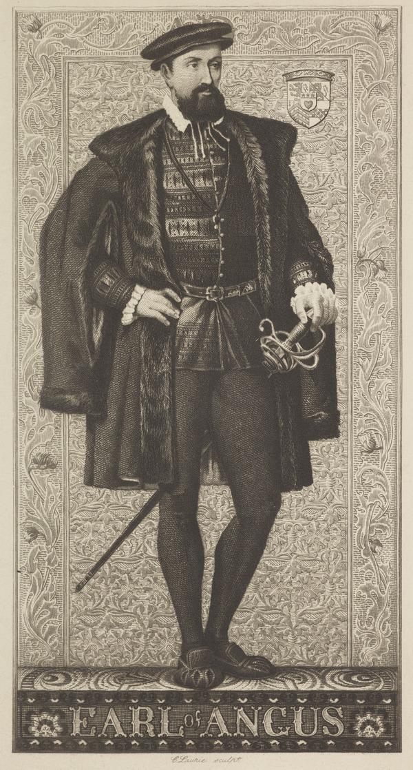 Archibald Douglas, 6th Earl of Angus, 1489? - 1557. 2nd husband of Margaret Tudor