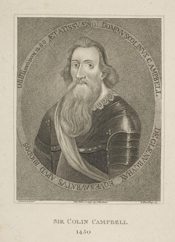 Sir Colin Campbell (of Glenorchy), c 1400 - 1480. Knight of Rhodes (1797)
