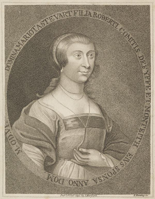 Lady Margaret (or Mariota) Stuart. 2nd wife of Sir John Campbell of Glenorchy (Published 1799)