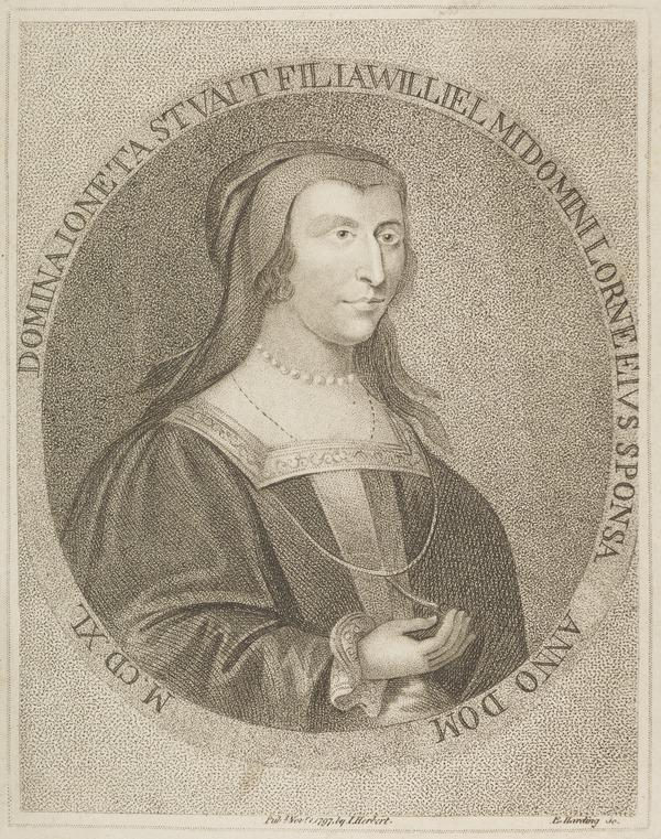 Lady Mariota (or Jonetta) Stuart. Wife of Sir Duncan Campbell of Lochaw (Possibly late 18th century)