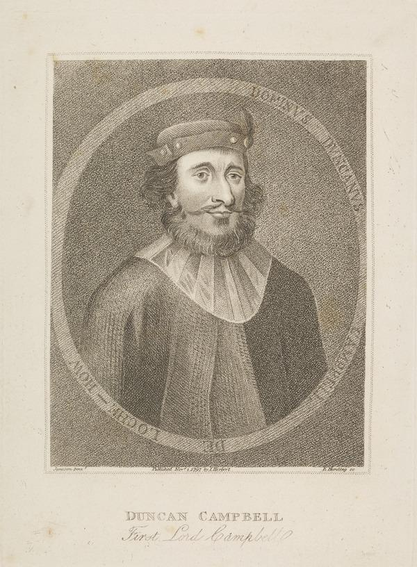 Duncan Campbell, d. 1453. Lord of Lochow; father of the 1st Laird of Glenorchy (1797)