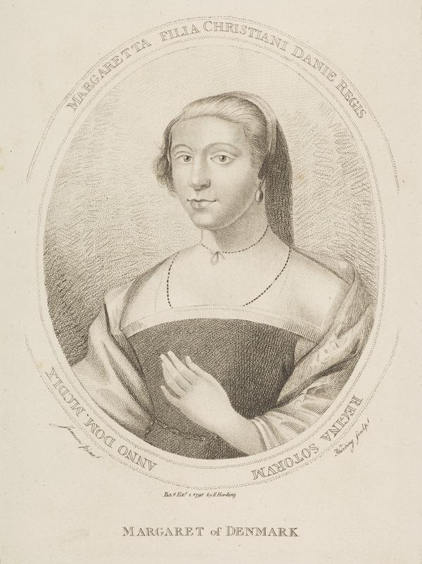 Queen Margaret, c 1457 - 1486. Queen of James III (Published 1798)