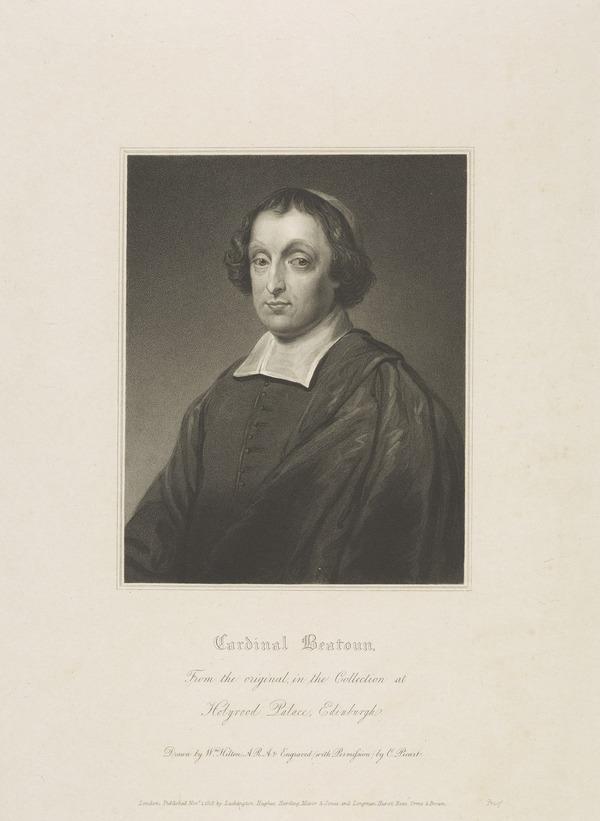 David Beaton, Cardinal Archbishop of St Andrews, 1494 - 1546 (Published 1818)