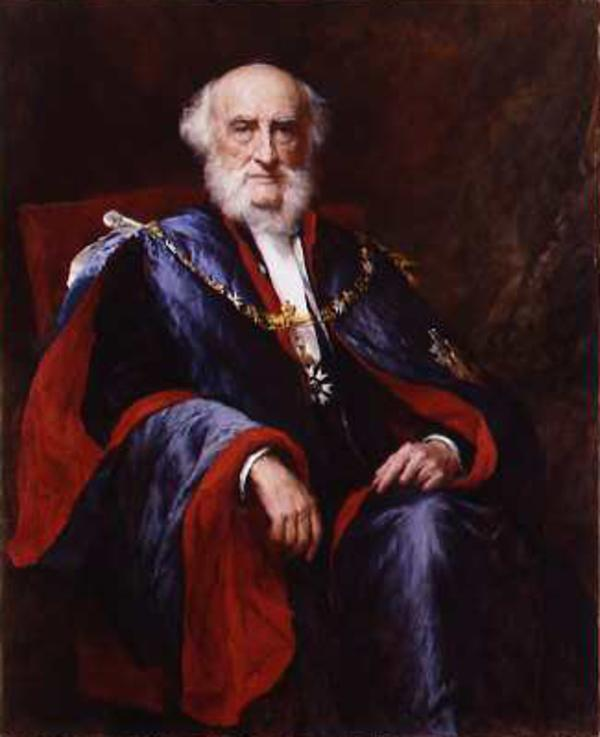 Sir Donald Currie, 1825 - 1909. Shipping magnate and educational benefactor (1908)