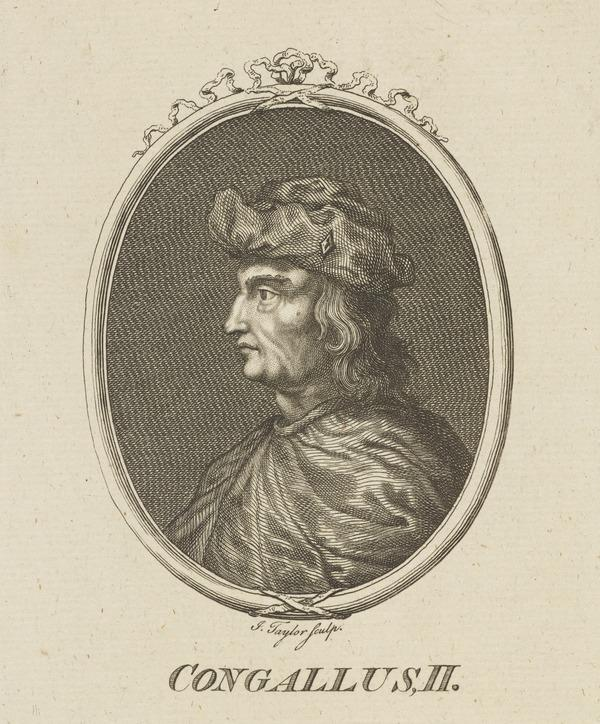 Congallus II, 557 - 574. King of Scotland (Possibly mid-late 18th century)