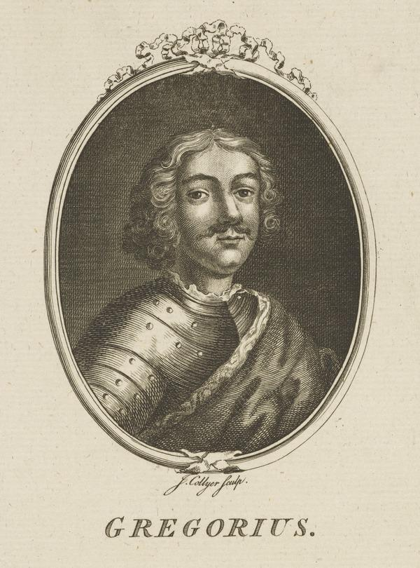 Gregory (The Great or Grig), d. 889. Scottish king (Possibly late 18th-early 19th century)