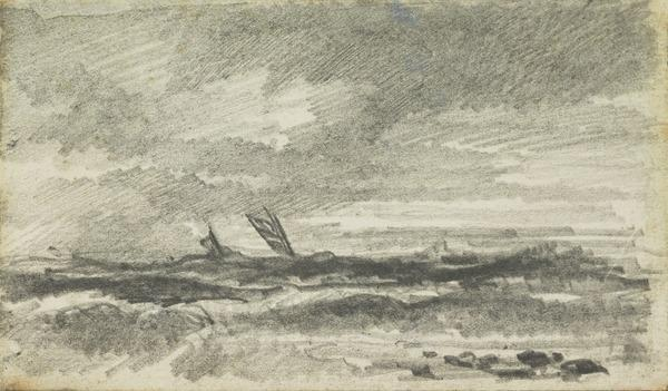 One of Six Seascapes