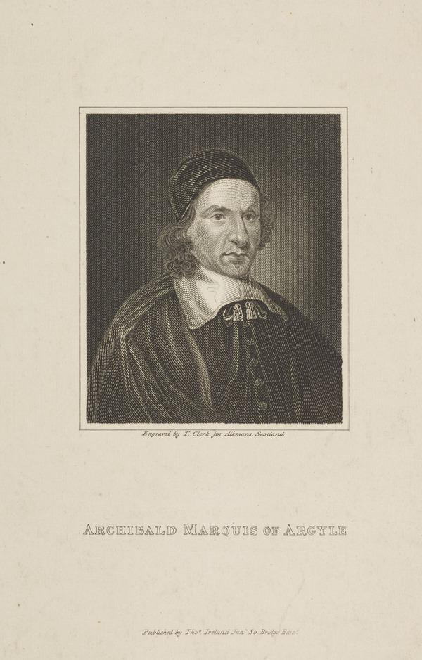 Archibald Campbell, 1st Marquess of Argyll, 1598 - 1661. Statesman