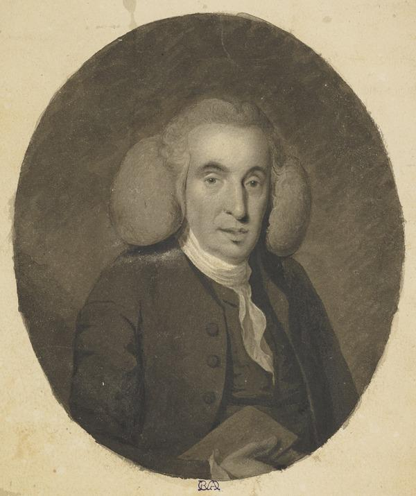Dr William Cullen, 1710 - 1790. Chemist and Physician. Probably a Copy after the Painting by William Cochrane (About 1825)