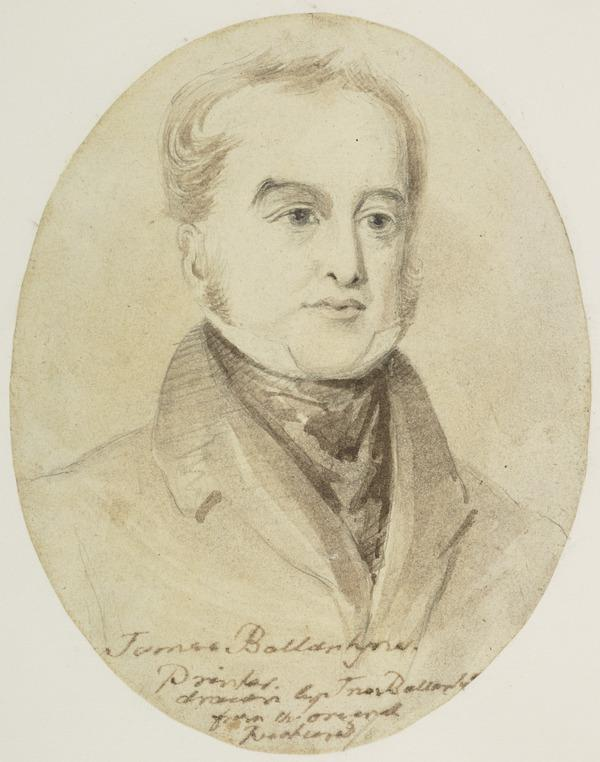 James Ballantyne, 1772 - 1833. Printer and brother of the artist (About 1810)