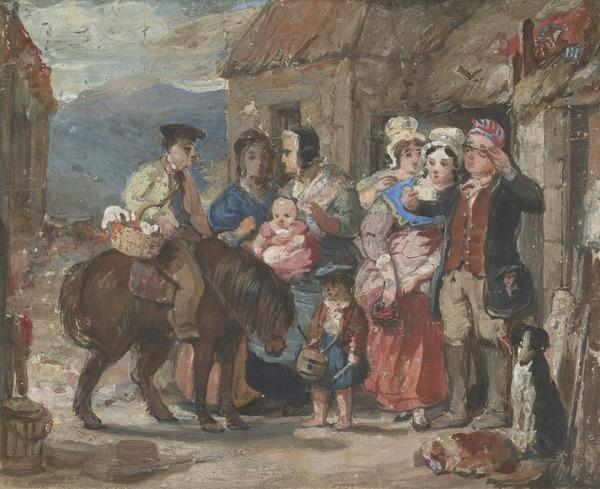 The Return from Market (About 1835)