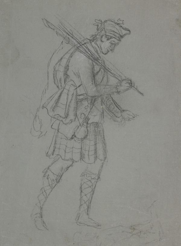 A Highland Soldier (About 1795)