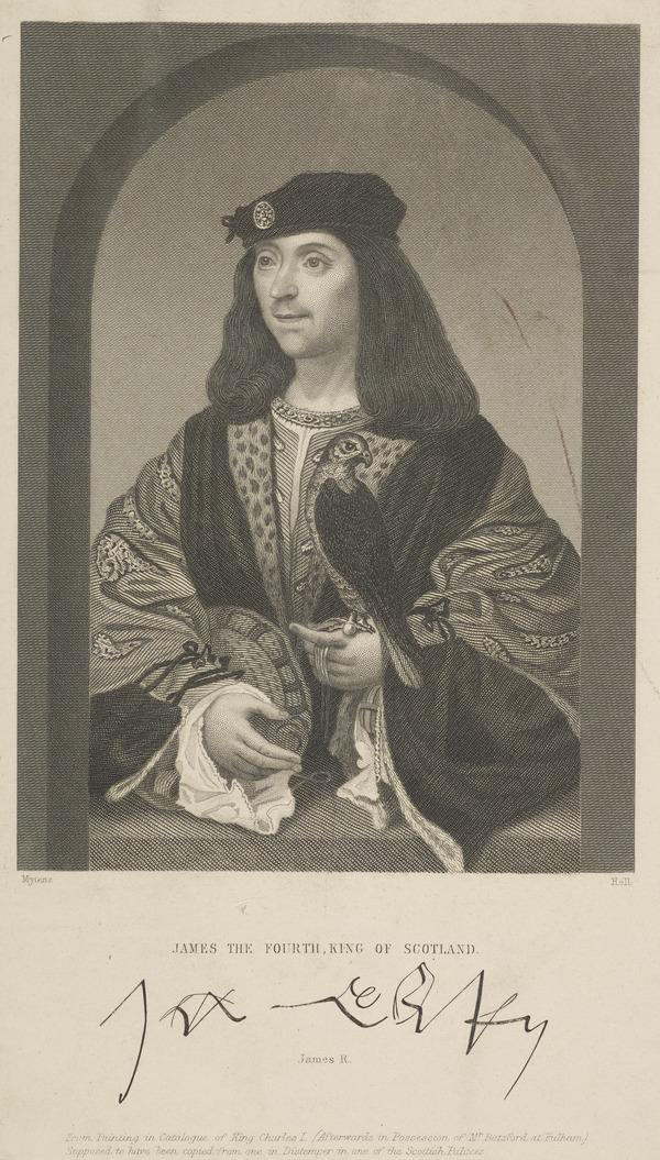 James IV, 1473 - 1513. King of Scots (Possibly mid-late 19th century)