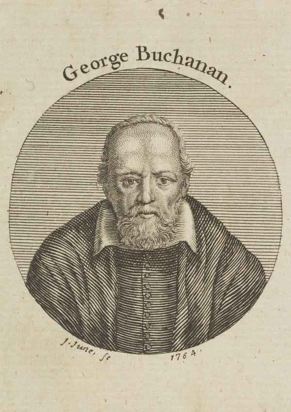 George Buchanan, 1506 - 1582. Historian, poet and reformer (1764)
