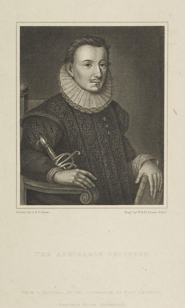 James (the Admirable) Crichton, 1560 - c 1585 (Published 1819)