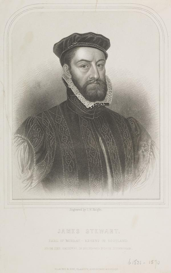 James Stewart, Earl of Moray, c 1531 - 1570. Regent of Scotland (Possibly 19th century)
