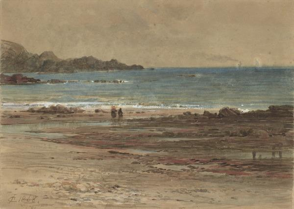 View on the East Coast (Dated 1868)