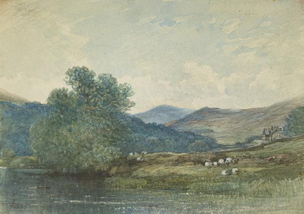 The 'Nest' on the Tweed (Dated 1877)