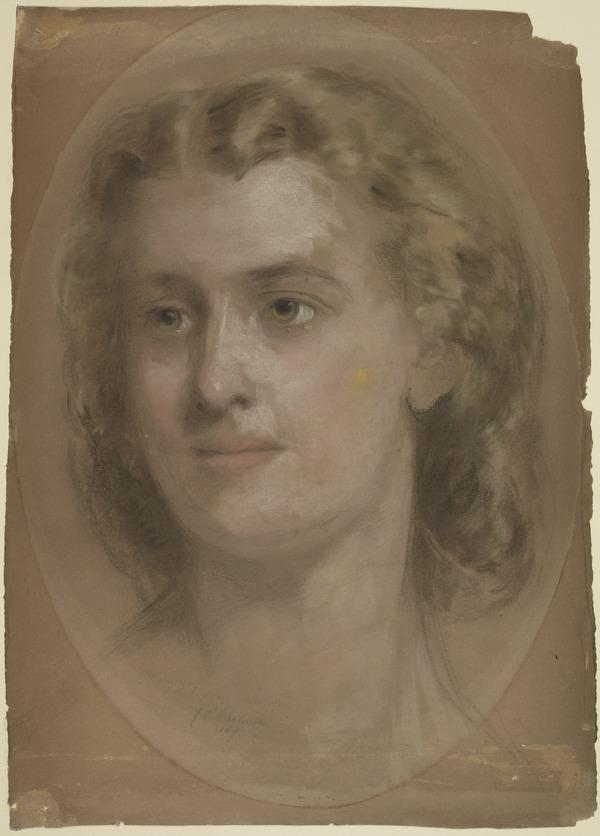 Mrs Murray of Balkankle Castle, Montrose (Dated 1869)