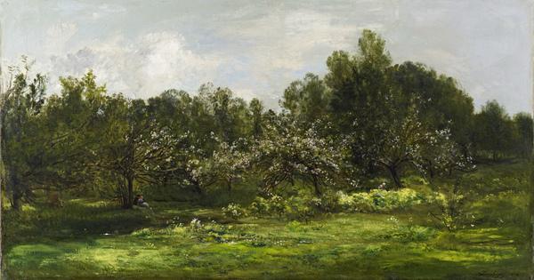 Orchard in Blossom (Les Pommiers en Fleur) (1874)