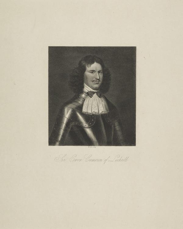 Sir Ewan Cameron of Lochiel, 1629 - 1719. Chief of Clan Cameron