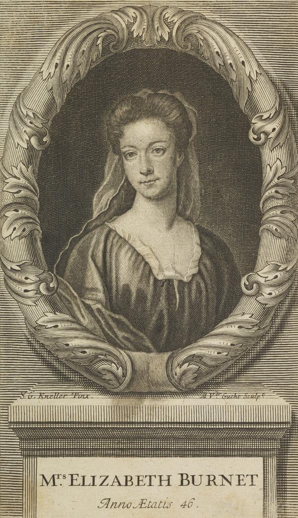 Elizabeth Burnet (nee Blake), 1661 - 1709. Religious writer (Published 1709)
