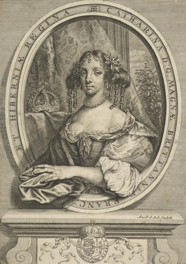 Catherine of Braganza, 1638 - 1705. Queen of Charles II