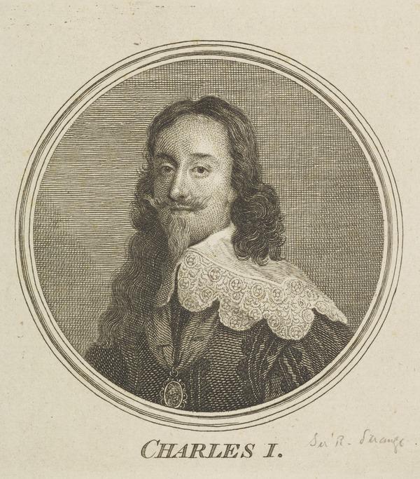 Charles I, 1600 - 1649. Reigned 1625 - 1649 (1757)
