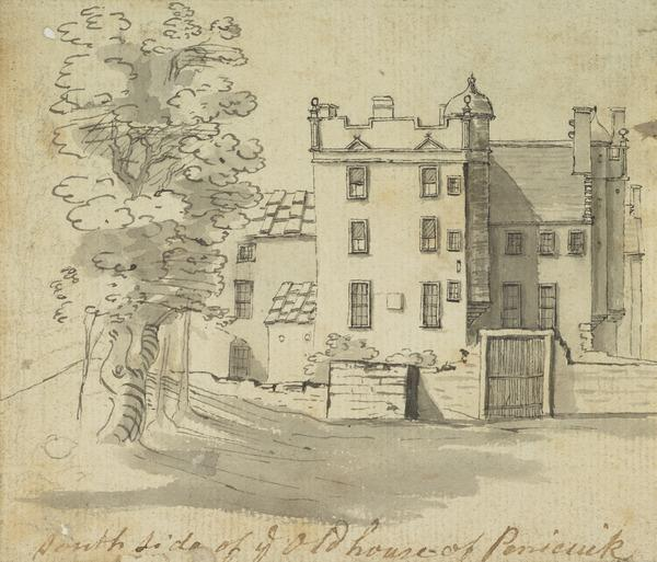 Penicuik House, South Side