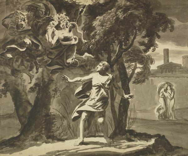 Orestes Pursued by the Furies
