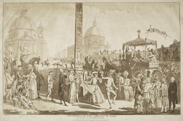 The Opening of the Carnival at Rome (1828)