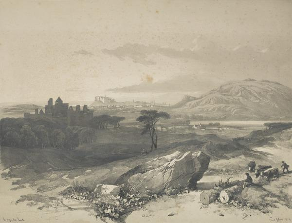 Craigmillar Castle, Edinburgh (After 1846)