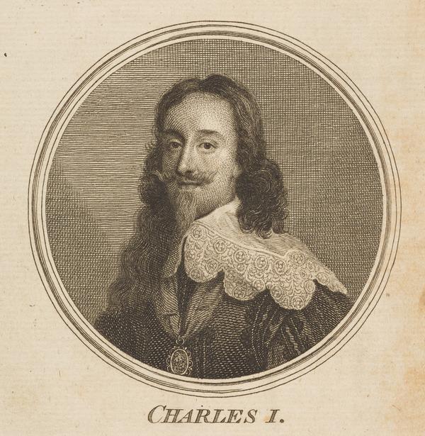 Charles I, 1600 - 1649. Reigned 1625 - 1649