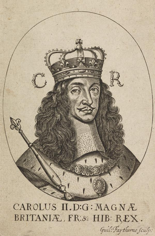Charles II, 1630 - 1685. King of Scots 1649 - 1685, King of England and Ireland 1660 - 1685