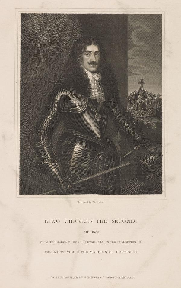 Charles II, 1630 - 1685. King of Scots 1649 - 1685, King of England and Ireland 1660 - 1685 (1834)
