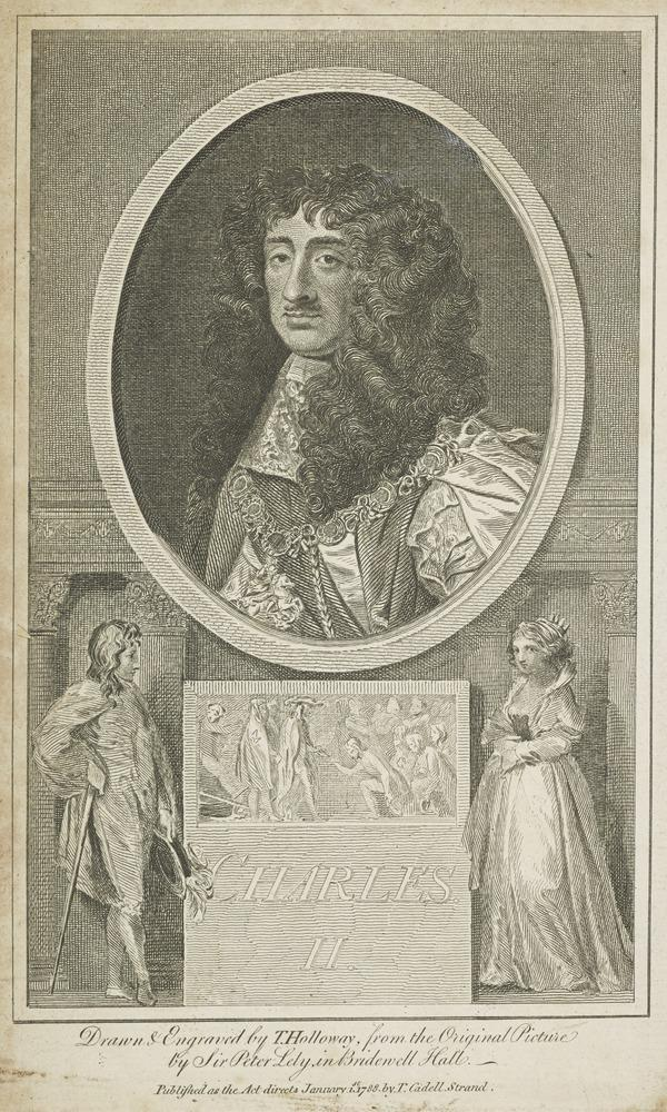 Charles II, 1630 - 1685. King of Scots 1649 - 1685, King of England and Ireland 1660 - 1685 (Published 1788)