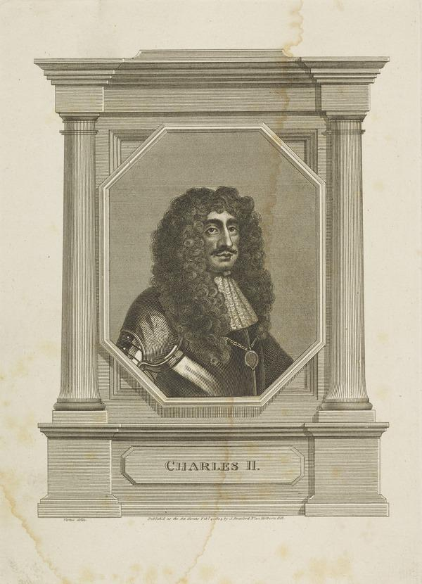Charles II, 1630 - 1685. King of Scots 1649 - 1685, King of England and Ireland 1660 - 1685 (Published 1804)