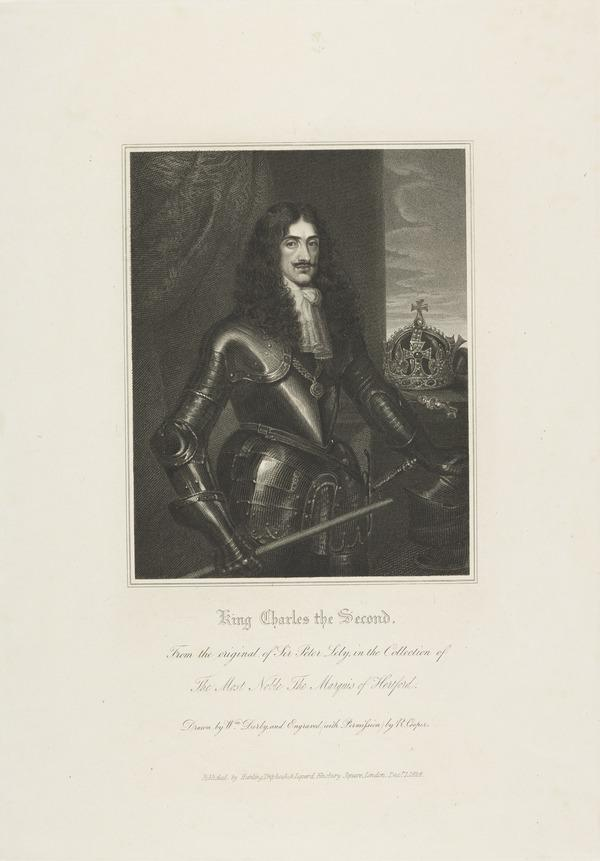 Charles II, 1630 - 1685. King of Scots 1649 - 1685, King of England and Ireland 1660 - 1685 (Published 1824)