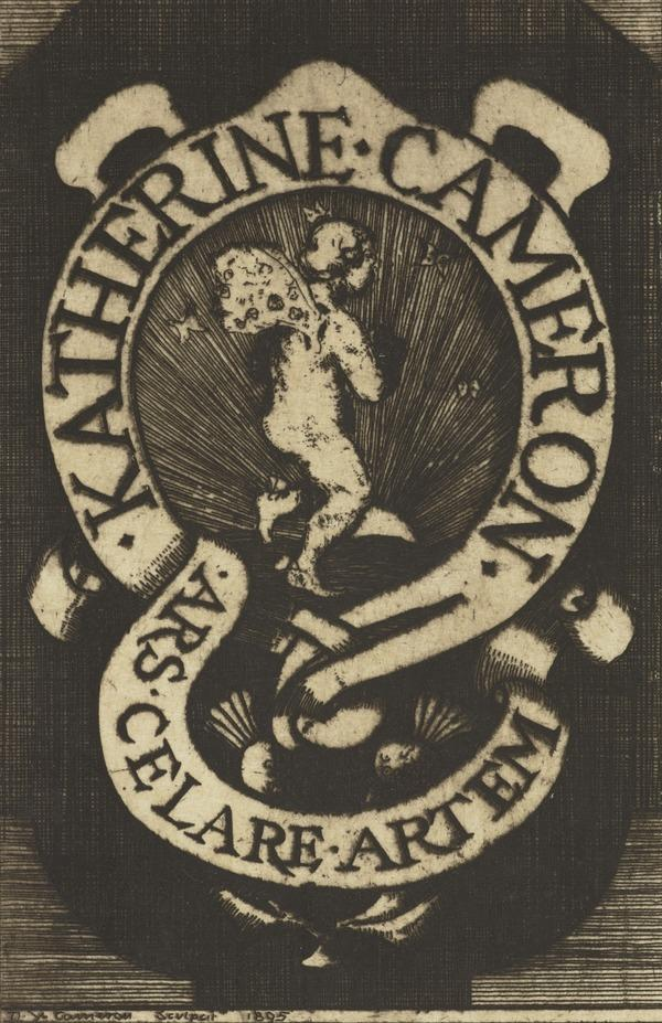 Katherine Cameron (Bookplate) (1895)