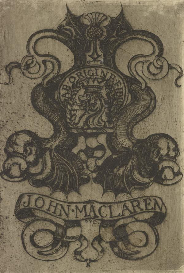 John Maclaren (Bookplate) (1897)